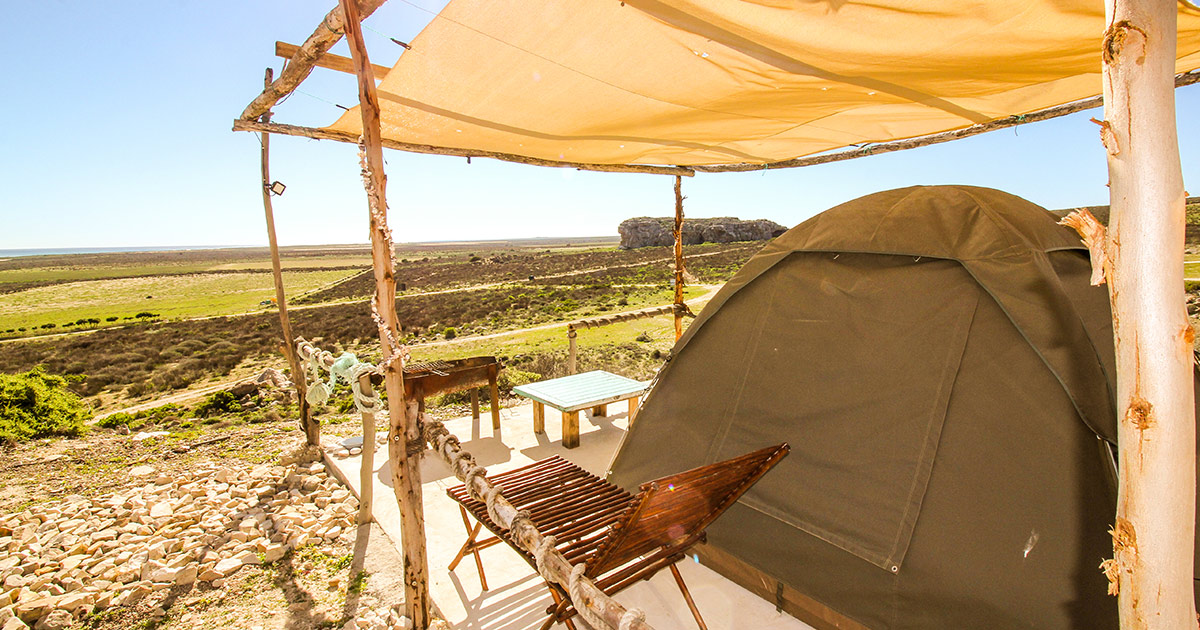 Expired:Tented Camp Getaway for 2 Couples in Lambert's Bay