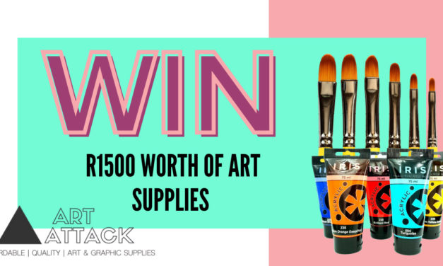 Expired: Win R1,500 worth of Art & Graphic Supplies with Art Attack
