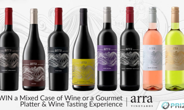 Expired: Win a Mixed Case of Wine or a Gourmet Platter & Wine Tasting Experience with Arra Wines